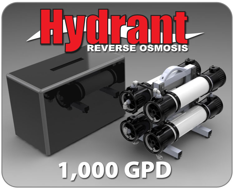 Hydrant Reverse Osmosis System Eco Friendly Efficient