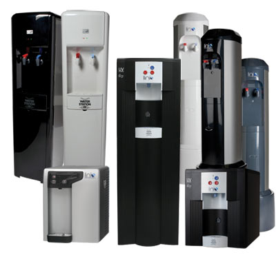 Linis Water Station filtration coolers replace bottled water coolers